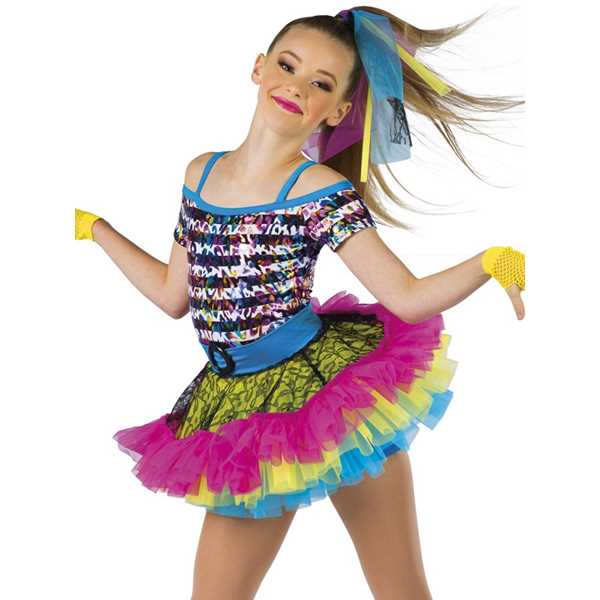 Material Girl Hip Hop Dance Costumes Recital Wear