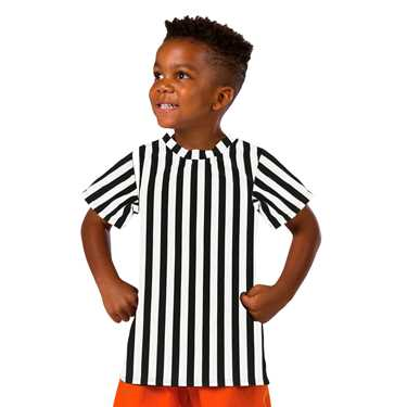 T SHIRT / REFEREE STRIPES